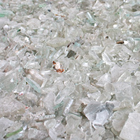 Glasrecycling - Weiss Glas