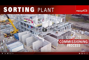 Video Glass Sorting Plant